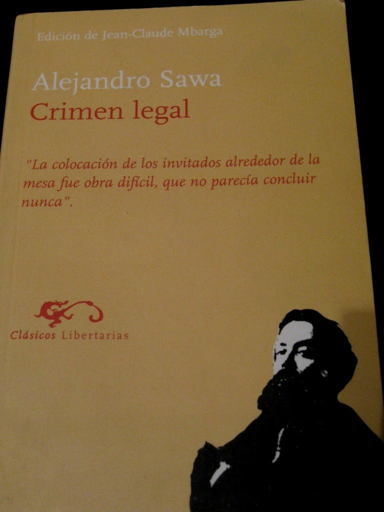 Crimen legal / Alejandro Sawa