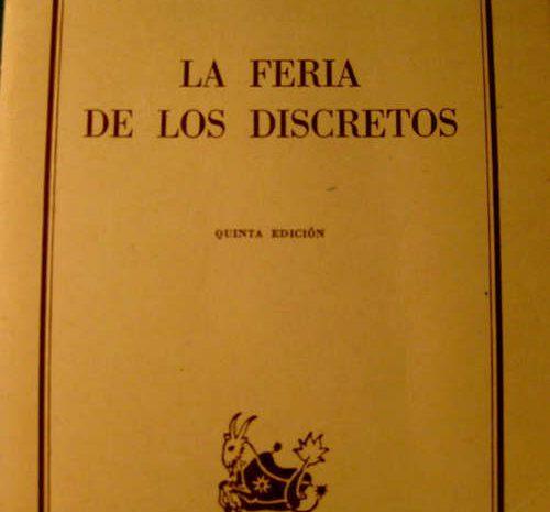 La feria de los discretos / Pío Baroja