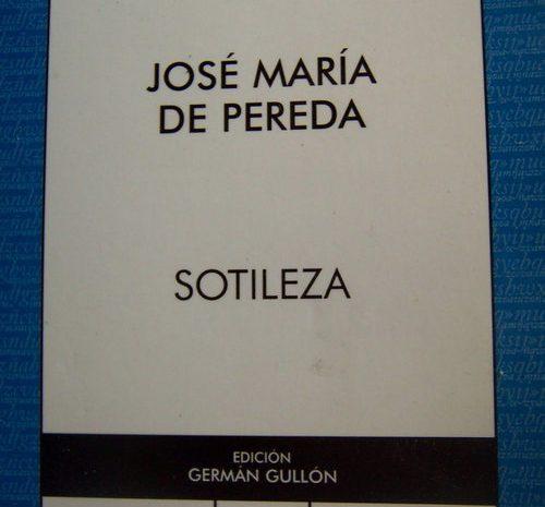 Sotileza / José María de Pereda