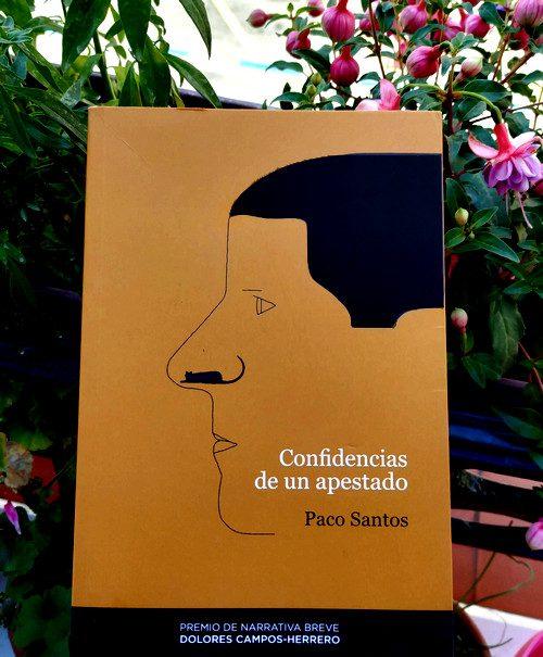 """Portada de """"Confidencias de un apestado"""". 1ª Ed. Premio de narrativa breve Dolores Campos-Herrero"""
