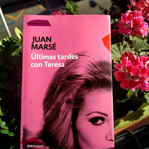 "Portada de  ""Últimas tardes con Teresa"" de Juan Marsé. Edición Debols!llo - Contemporánea (Penguin Random House)"