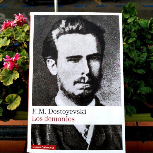 """Ejemplar de """"Los demonios"""" (Dostoyevski). Edición Galaxia Gutenberg"""