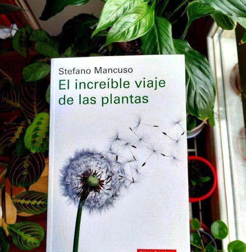 """Portada de """"El increíble viaje de las plantas"""", de Stefano Mancuso. Editorial Galaxia Gutenberg."""