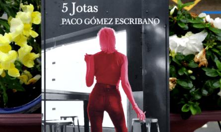 "Portada de ""5 Jotas"", de Paco Gómez Escribano. Ed. Alrevés"